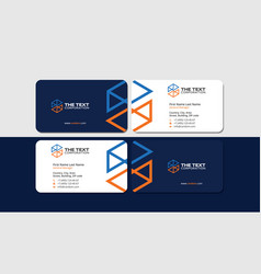 Business cards metallurgy corporate identity vector