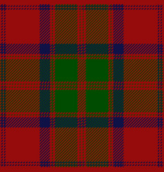 Clan grant scottish tartan plaid vector