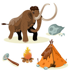 extinct species evolution hunting vector image