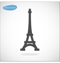 Paris symbol - Eiffel tower vector image