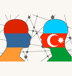 Politic relationship concept vector