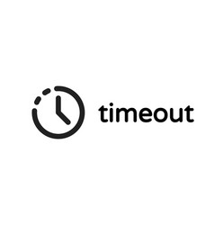 timeout error time out icon vector image