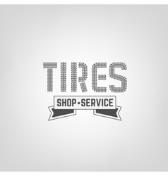 Tires Shop Logo-04 vector image