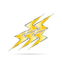 flash color vector image