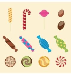 Sweet candies vector image vector image