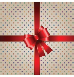 christmas package vector image