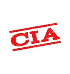 CIA Watermark Stamp vector image