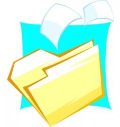 folder vector image