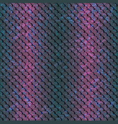 pattern-fish-blue-pink vector image