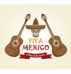 Icons music mexico design vector