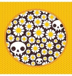 Nature skulls vector image vector image