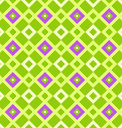 geometric pattern green vector image