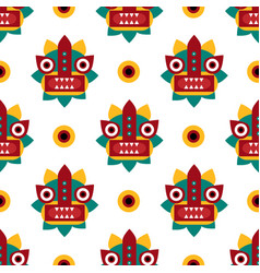 Chinese traditional folk seamless pattern vector