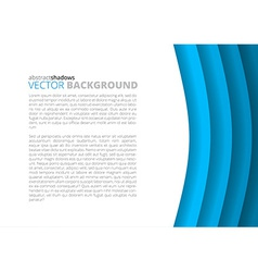 Colorful paper sheets vector image