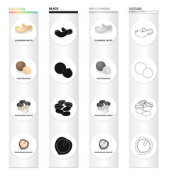 Delicacy treats product and other web icon in vector
