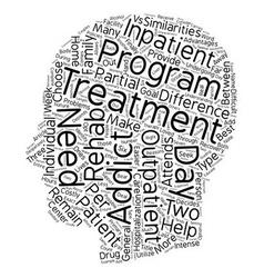 Drug Rehab Outpatient vs Inpatient What s The vector