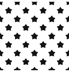 Five pointed big star pattern simple style vector