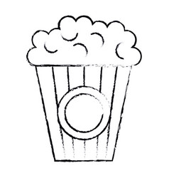 pop corn cinema food vector image