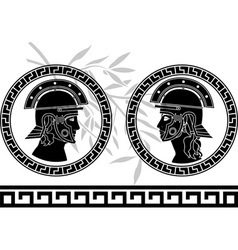 roman god and goddess vector image