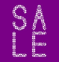 Sale oriental style patterns arabesques purple vector