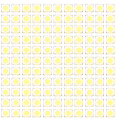 set of typical led seamless pattern vector image