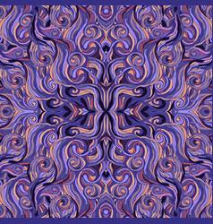 vintage seamless pattern mandala ornament vector image