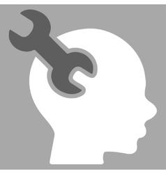 Brain Service Icon vector image vector image