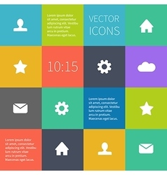 box infographic or user interface vector image vector image