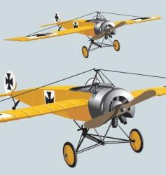 Aeroplane wwi vector