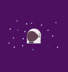 astronaut helmet vector image