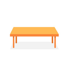 Brown table like corporate desk vector