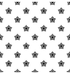 Convex star pattern simple style vector
