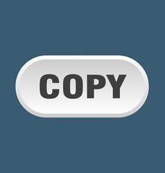 Copy button copy rounded white sign copy vector