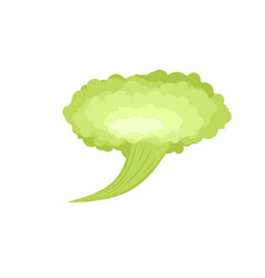 Fart green cloud stench bad smell vector