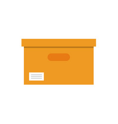 files archive box icon vector image
