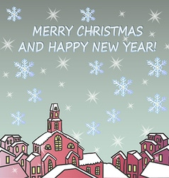 Merry Chrismas background vector