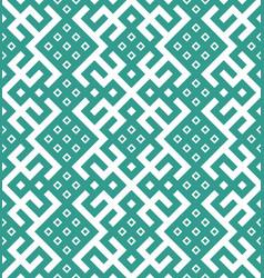 national knitting striped slavic ornament vector image