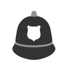 police hat elements of the police equipment vector image