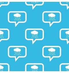 Rain message pattern vector