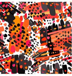 seamless textile pattern print fashion trendy vector image