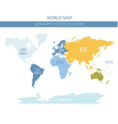 World map elements build your own geography info vector