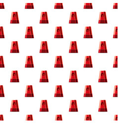 Flasher pattern vector