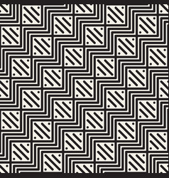 seamless lattice pattern geometric zigzag lines vector image