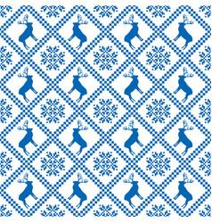 Traditional scandinavian pattern nordic ethnic vector