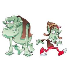 Ogre and elf vector