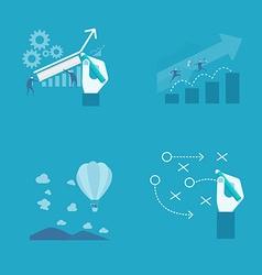 Business presentation vector image vector image