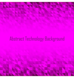 Abstract Violet Geometric Technology Background vector