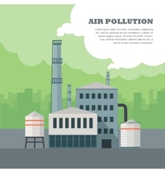Air Pollution Concept vector