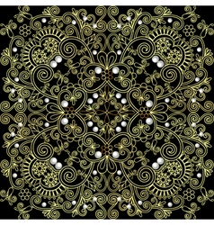 Background from a circular ornament vector