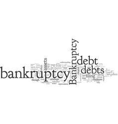 Bankruptcy primer vector